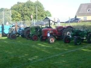 Gamle traktore fra Detlef i Elstrup