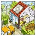 Landsby energi-side